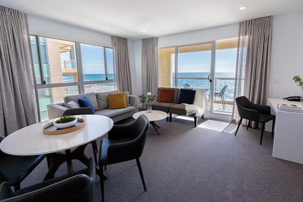 Oaks Glenelg Plaza Pier Suites 2 Bedroom Premier Ocean View Living
