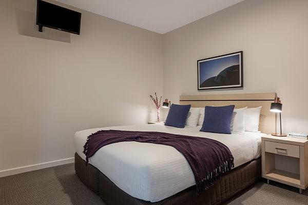 Oaks Melbourne on Market Hotel 1 Bedroom Premium Bedroom