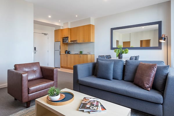 Oaks Melbourne on Market Hotel 2 Bedroom Premium Living