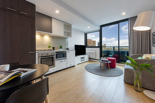 Oaks Melbourne Southbank Suites 1 Bedroom View