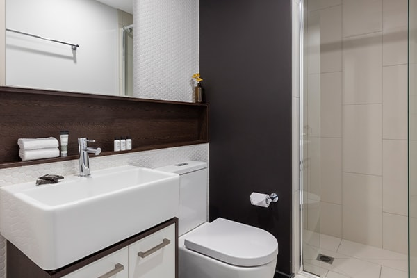 Oaks Melbourne Southbank Suites 2 Bedroom View