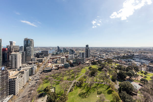 Oaks Melbourne on William Suites 1 Bedroom View