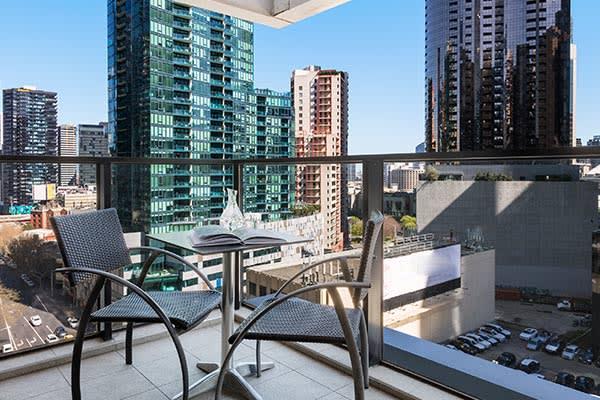 OAKS WRAP ON SOUTHBANK 1 Bedroom City View Balcony