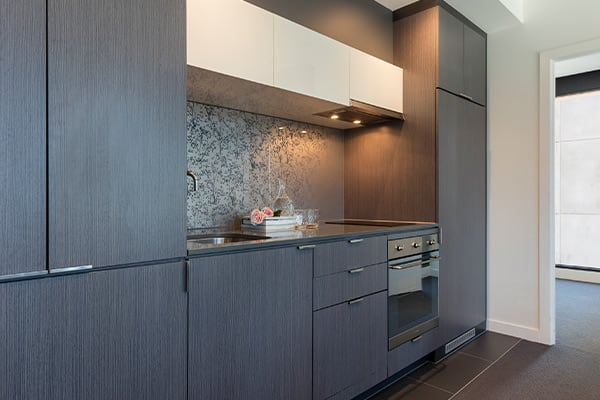OAKS WRAP ON SOUTHBANK 1 Bedroom City View Kitchen