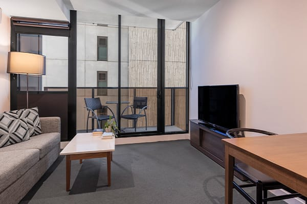 WRAP on Southbank 1 Bedroom Living