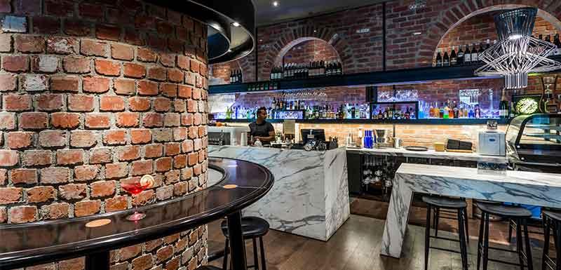 Dee Casa bar wrap on southbank melbourne
