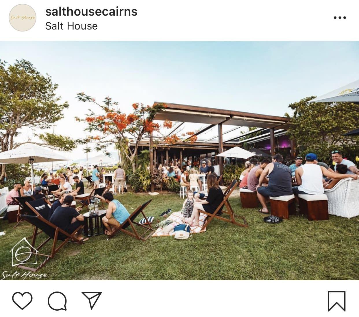 Salt house cairns