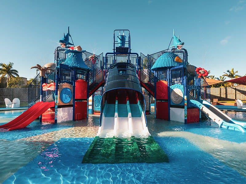 Enjoy our award wining family resort, Oaks Sunshine Coast Oasis Resort
