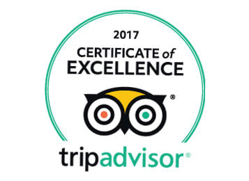 Oaks Hotels & Resorts earns twenty TripAdvisor Certificate of Excellence Awards in 2017