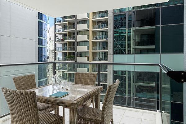 iStay River City Balcony Image