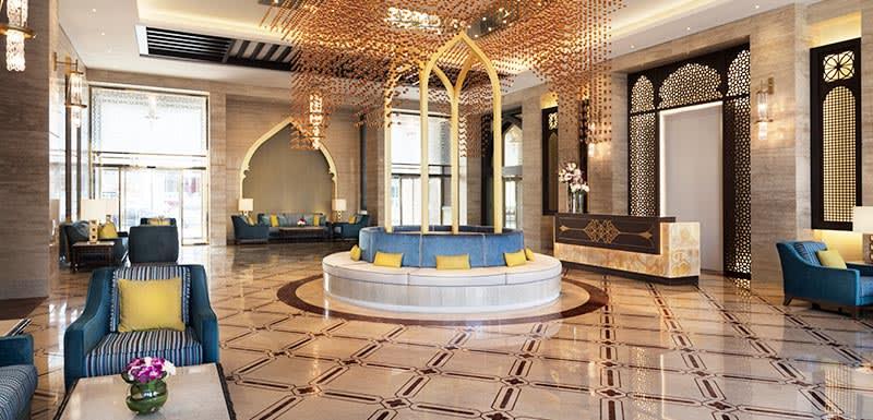 Al Najada Doha Hotel Apartments by Oaks - Main Lobby
