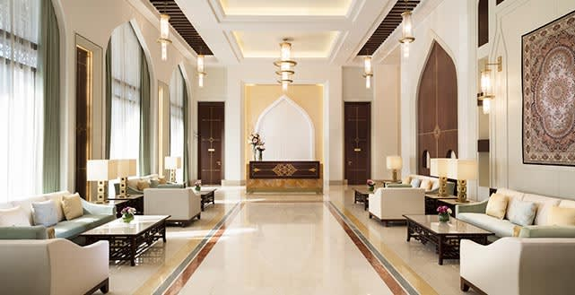 Al Najada Doha Hotel Apartments by Oaks - Lobby
