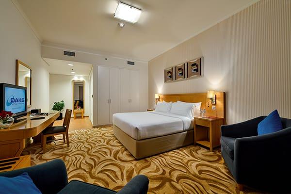 Family 2 Bedroom Apartment at Oaks Liwa Heights Dubai