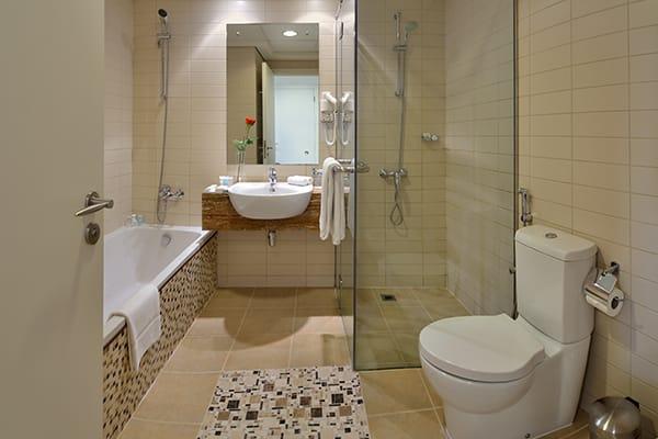 Bathroom in Apartments at Oaks Liwa Heights