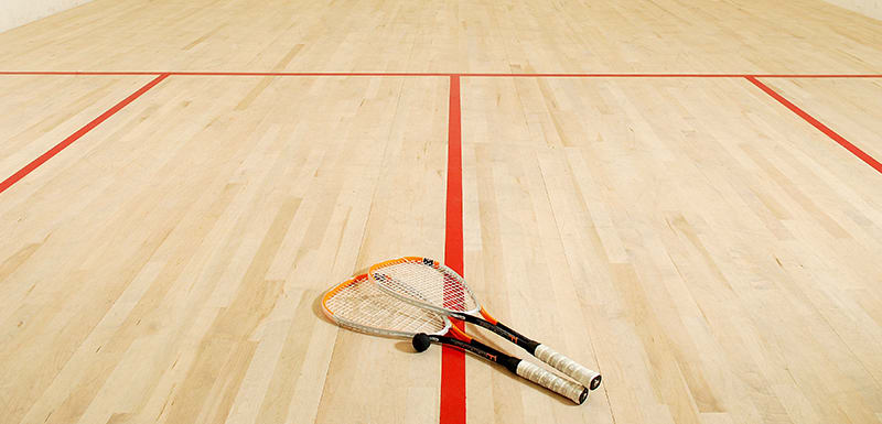 Squash Court at Oaks Liwa Heights