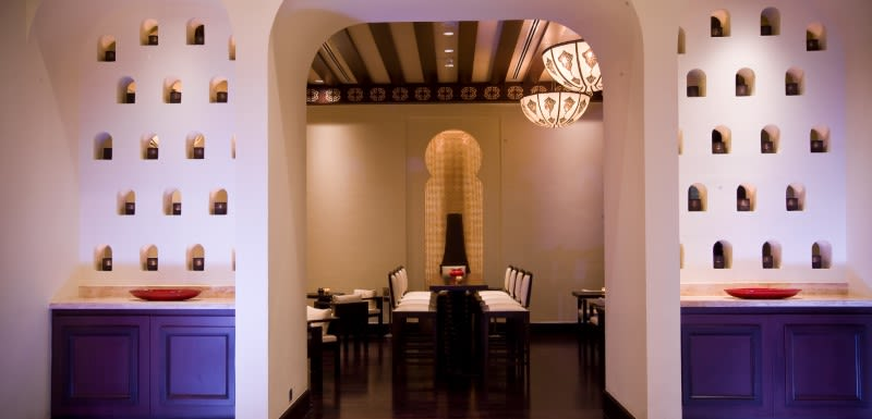 Moroccan inspired Oaks Ibn Battuta luxury hotel