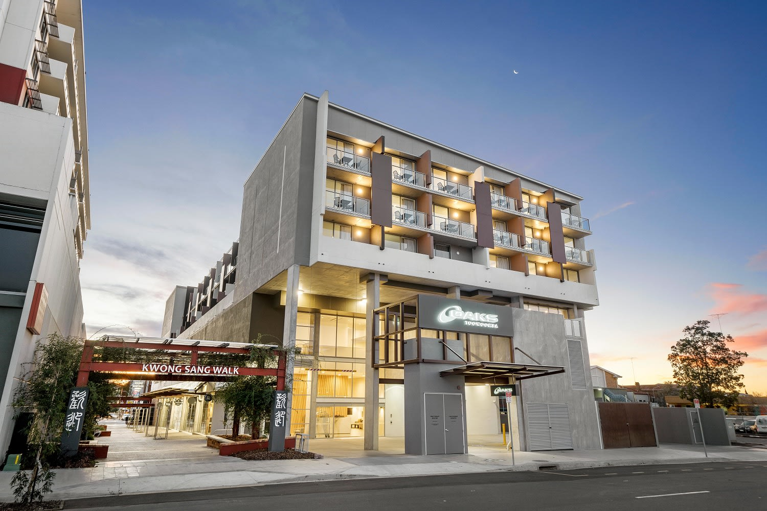Oaks Toowoomba Hotel launches in Queensland's Largest Inland City