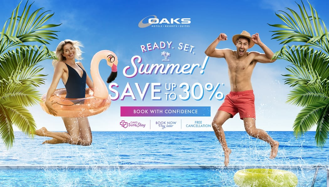 Oaks Hotels, Resorts & Suites announces 'Ready.Set.Summer' offer